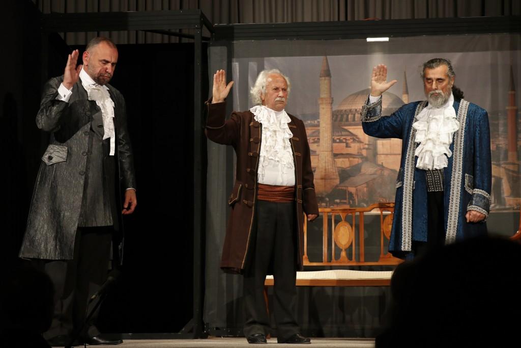 Η παράσταση πραγματοποιήθηκε στις 23 και 25 Μαρτίου στην Ερμιόνη.